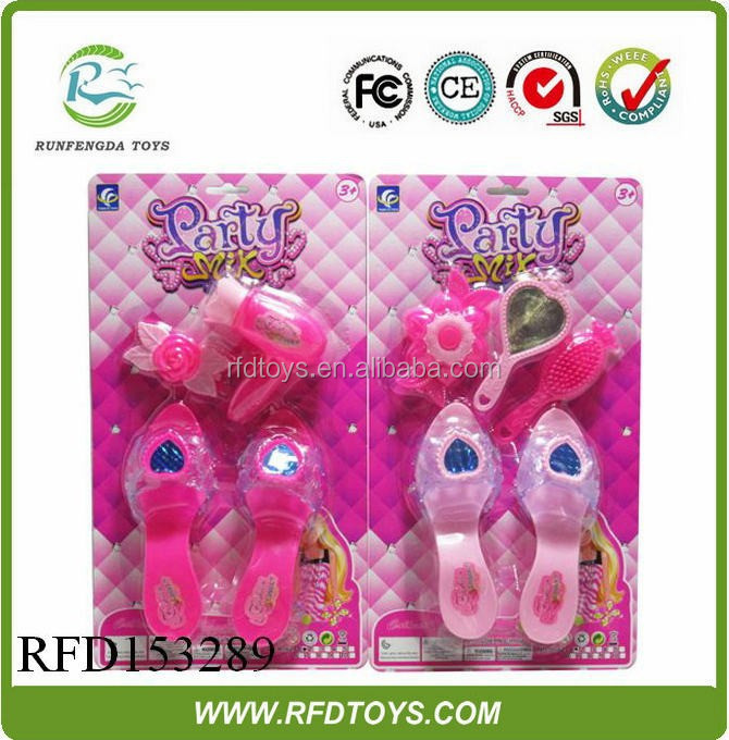 Wholesale girl toys princess make up set,plastic beauty make up set toy