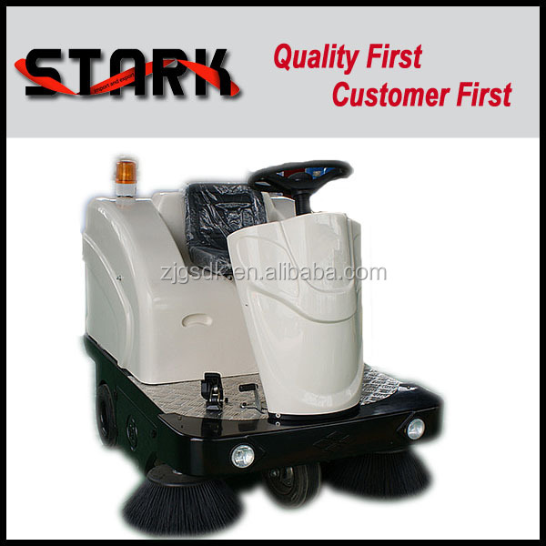 SDK1360 Industrial electric parking lot cordless street sweeper