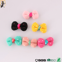 haoxie brand custom wholesale hot selling cheap hairbow kids bow headbands hair bow tie baby girl hair bows