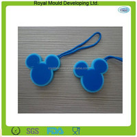 Hanging style rabbit ear shaped silicone car air fresher