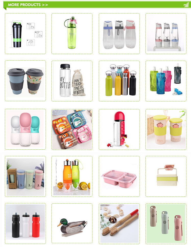 China Travel Free Samples BPA Free Notebook Flat Plastic Square Water Bottle