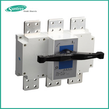 Indoor Outdoor Electric 3P 4P AC DC Battery Load Isolator switch Disconnet Switch 220V 1000V 100A 160A 250A 400A 630A 1600A