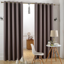 Block 85% -99% Sunlight and Ultraviolet Grommet Thermal Insulated Elegant Living Room Curtain