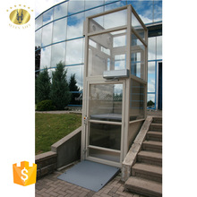 7LSJW Shandong SevenLift hydraulic 250kg 5.0m personnel wheelchair lift for the disabled