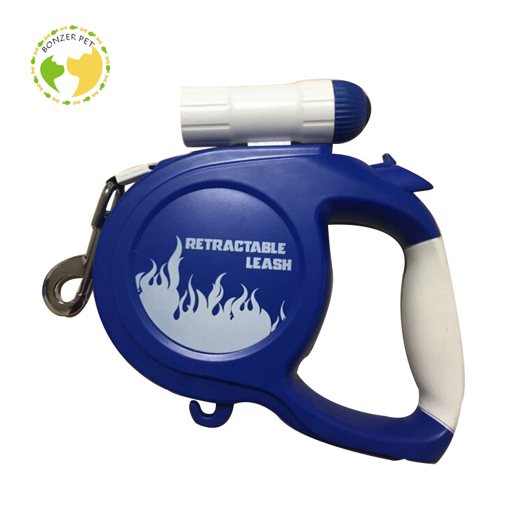 Hot Sale and Wholesale Quality Guaranteed Flashlight Retractable Dog Leash