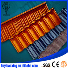 Colorful Stone Coated Metal Roof Sheeting Tiles Of Asphalt Shingle Roof Coating