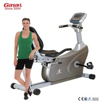 Ganas KY-3500 gym indoor exercise magnetic recumbent bike fitness equipment for elderly