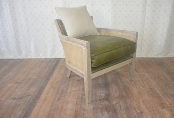 french style arm chair solid oak furniture