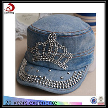 rhinestone newsboy military army baseball hats caps