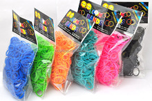 crazy wholesale colorful loom rubber bands with high quality