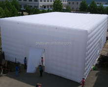 Oxford Cloth Customized Inflatable Cube Large Party Tent, Cheap Inflatable Cube Lawn Tent For Outdoor Activities