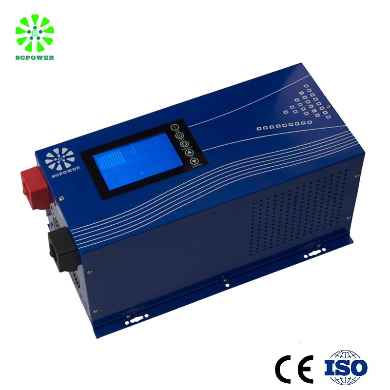 Solar off grid independent hybrid pv power system with inverter mppt charge controller