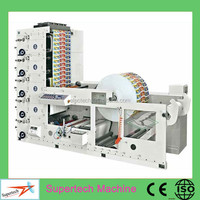 Hot Selling 5 Colour Wide Web Flexo Printing Press