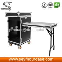Aluminum Space Rack Case DJ Work Table
