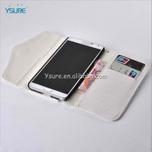 2014 new design with stand wallet zipper case for note 3 samsung galaxy