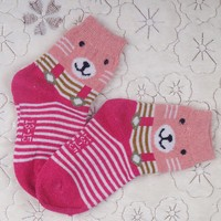 New arrival wholesale top quality young girl sock