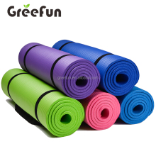 Hot Sale Non Slip Fitness Mat , 1/2-Inch Extra Thick High Density NBR Comfort Foam Exercise Yoga Mat for Pilates Fitness Workout
