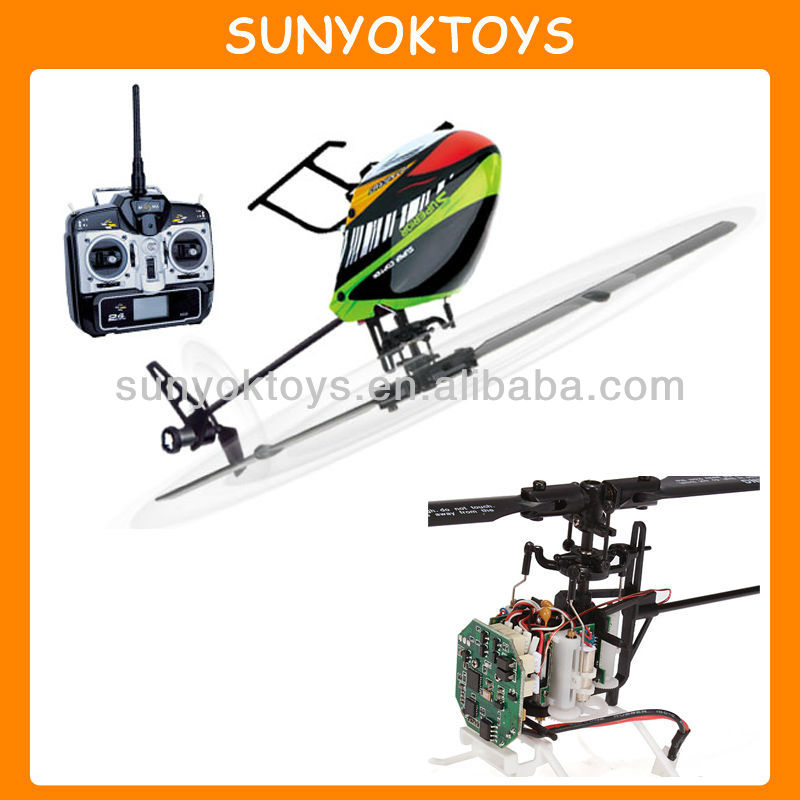 H377 CP FBL 2.4G 6CH 3D Flying RC Helicopter RTF, RC Helicopter 6CH
