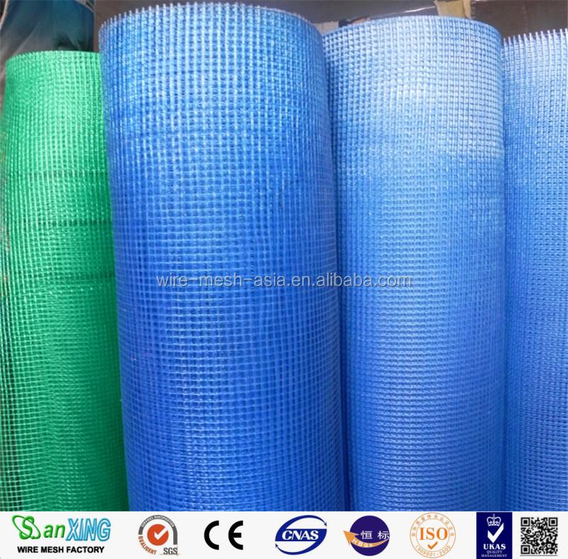 White Fiberglass Mesh : Mm g m reinforced fiberglass mesh coated white eifs