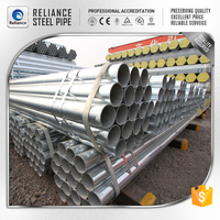 THICK WALL PRE GI PIPE SIZE GALVANIZED STEEL