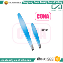 hot sale stainless steel colorful eyelash eyebrow tweezer