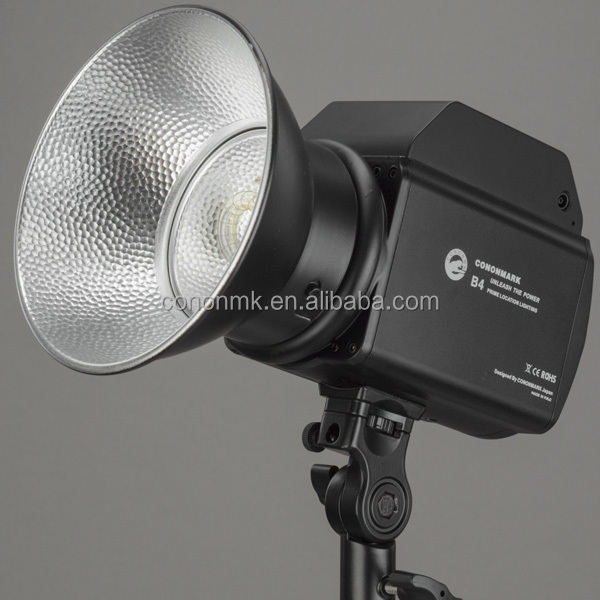 CONONNMK B4 400WS lithium Battery flash for commercial shooting