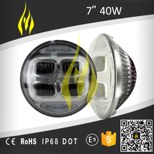 40W 3200lm auto led headlight Jeep wrangler 4x4 offroad ATV