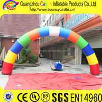 Rainbow Advertising Inflatables Decoration Arch