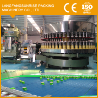 Automatic canned chicken filling packing machine line
