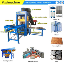 price check south africa small fully automatic block moulding machine from China for brick making machine price