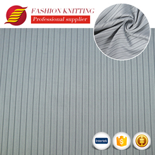 Shaoxing custom fancy spandex polyester tube knitted rib fabric