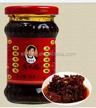 LaoGanMa Angry Lady Sauce refined BEEF MINCED Black bean hot sauce