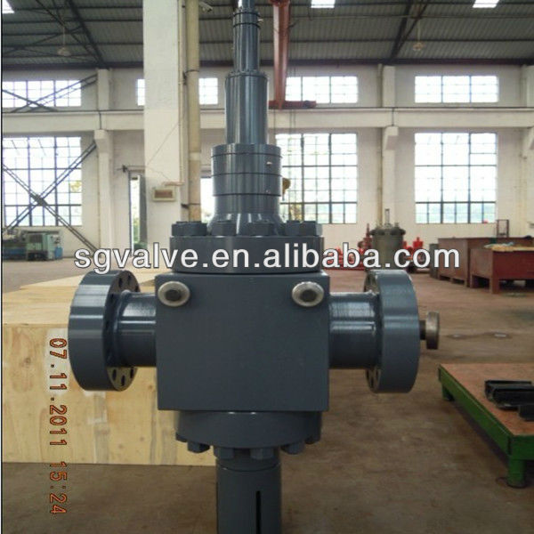 API6A Cameron Type Ball Screw Opeation Flange Gate Valve