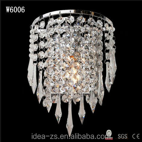 2013 new arrivel crystal style moroccan wall sconces
