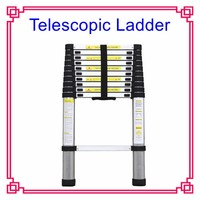 EN131-6 SOFT CLOSING Telescopic Ladder Aluminium Ladder for home