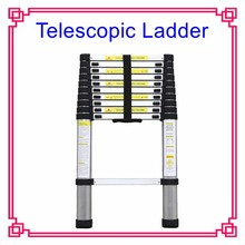 EN131-6 SOFT CLOSING Telescopic Ladder Aluminium Ladder for home