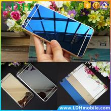 Front+Back Tempered Glass Mirror Effect Color Protective Film For iPhone 4 4s 5 5s 6 6s 6plus Case Screen Protector