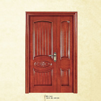 Mather and son solid wood main double door