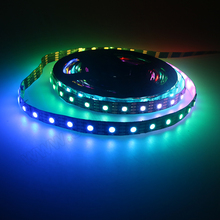 Individual RGB 60 LED stage lights SK6812 WS2812b Flexible led strip for advertising