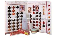 OEM Professional hair color or hair color chart from GMPC factory with low amonia