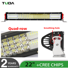 Wholesale Waterproof Combo Beam Driving LED Light Bar Off-road 4x4 Truck Military Mining Heavy Equipment