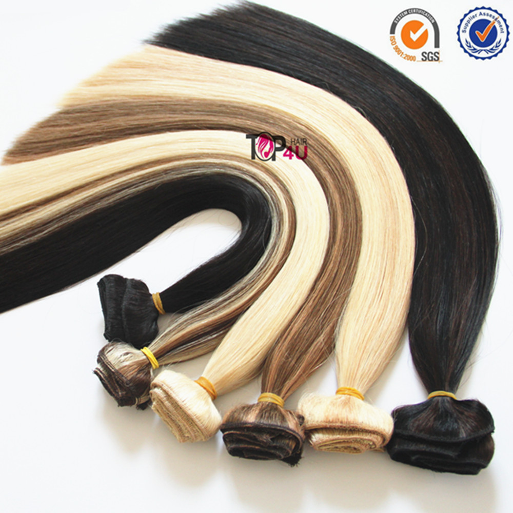 Malaysian human clip in extension,wholesale virgin remy human hair extensions