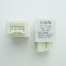 8PINs Car LED Flasher Relay Set to fix the fast blink free 12V for Mazda FORD use PA