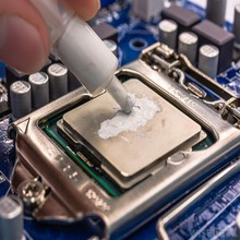 White Thermal Silicon Grease for CPU and Heatsink