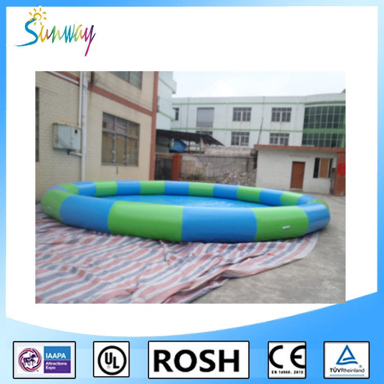 SUNWAY CE Approval Durable Material Inflatable Swimming Pool Inflatable Palm Tree Pool Float