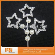 fashion sparkle star cake topper for wedding cake decorating supplies