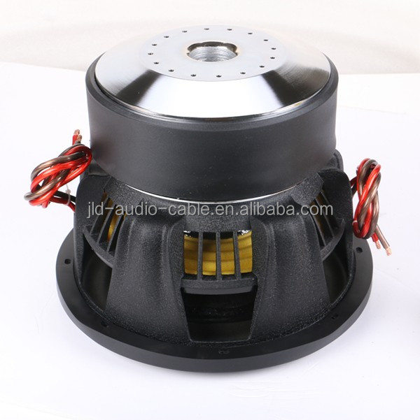 JLDAUDIO competition subwoofers with Huge power dual2OHMS high spl 12 inch car subwoofer