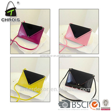 competitive price leather envelope clutch