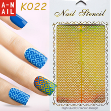 Nail Hollow Sticker Nail Art Stencil Sticker