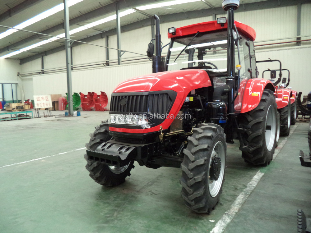 ENFLY tractor DQ1204, loader, backhoe